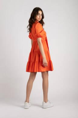 rochie kiss of life portocalie 1