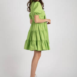 rochie verde kiss of life 1