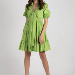 rochie verde kiss of life 2