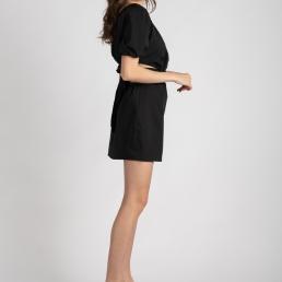 rochie neagra dream in colors la donna